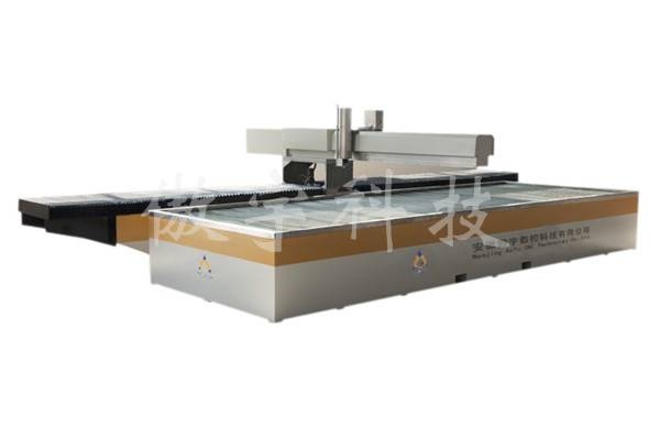 Cantilever Structure 2*1.5m cnc water jet cutter  with SGS SIO CE