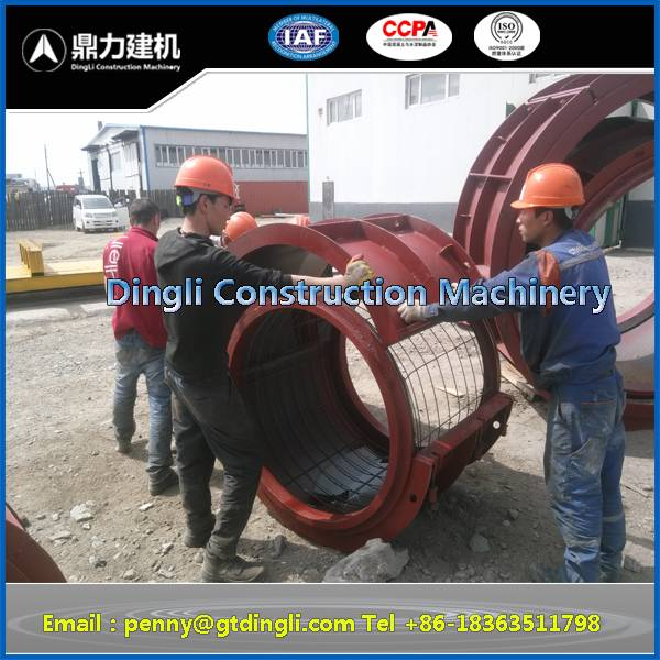 RCC pipe steel cage making machine