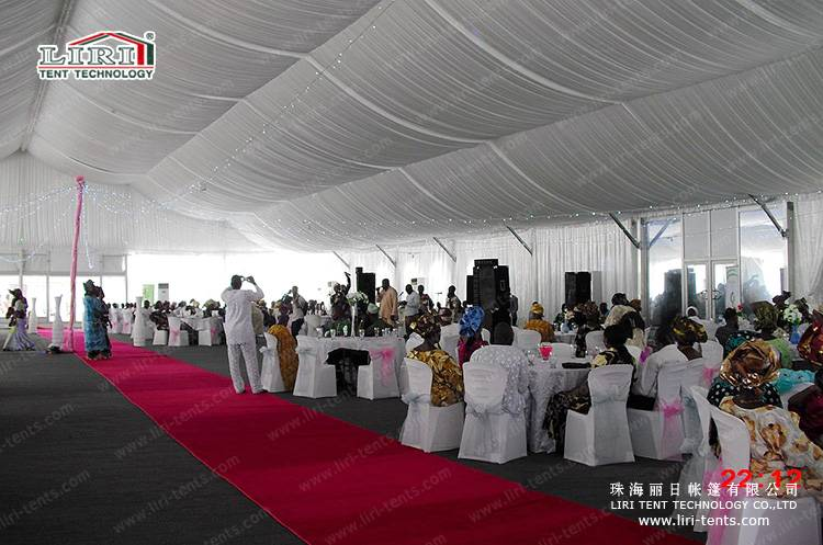 5000 People Outdoor Church Tents With Lining Decorations from LIRI