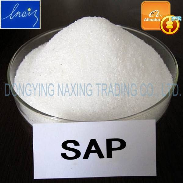 Super absorbent polymer(sodium polyacrylate)