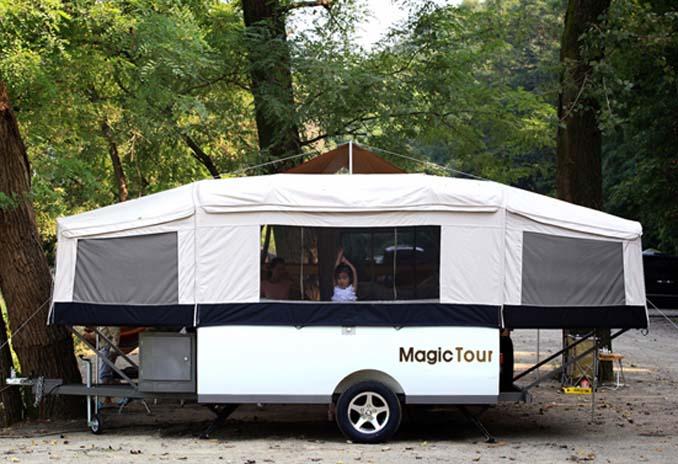 Australian Style Hard Floor off Road Trailer Tent Trailer RV Caravan Trailer Camp Trailer