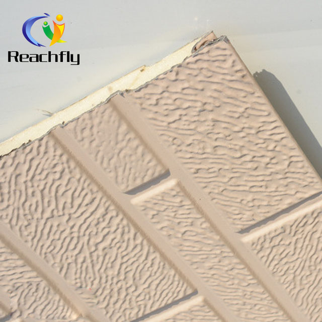 decorative external metal siding panel; new prefab construction material