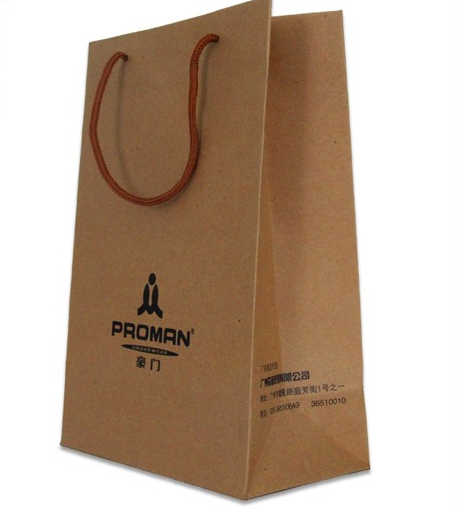Wholesale Brown Paper Bag Clothing