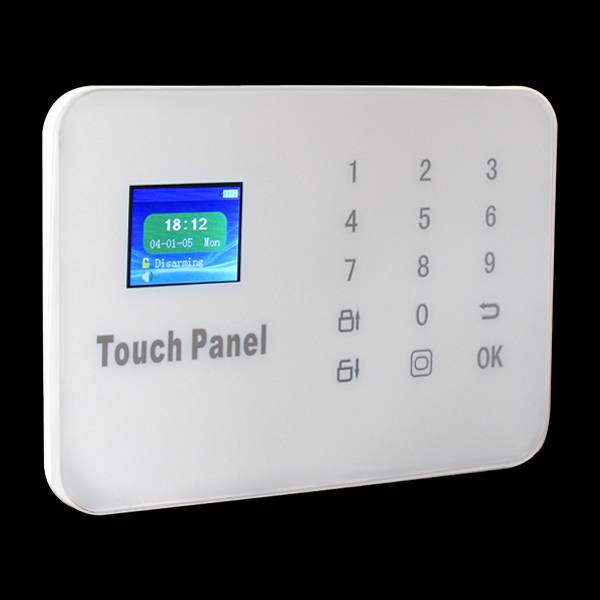 TFT color screen wireless GSM&PSTN alarm system