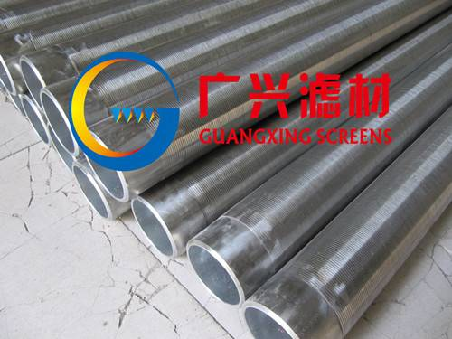 stianless steel 304 wedge wire Johnson water well screen for water well drilling and farm irrigation
