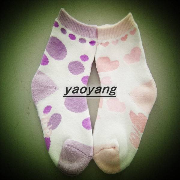 hot sale and lovely style cotton colorful baby socks  KS017