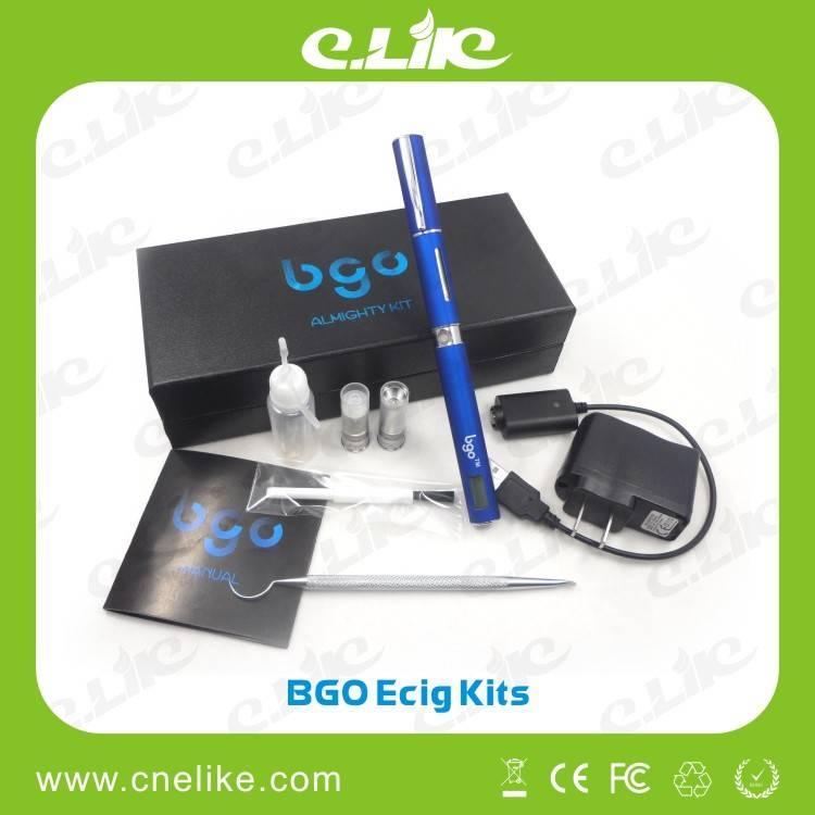 Newest Patent E-cigarette Bgo Vaporizer Electronic Cigarette for Eliquid/Wax/Dry Herb (tobacco)