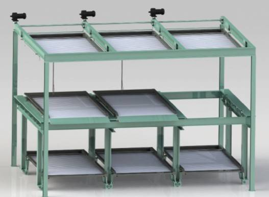 3-layer Multi-Vertical Parking system PSH-3