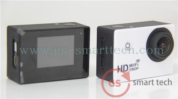 NEW HD 1080P 60FPS 2.0inch LCD Action Digital Camera Camcorders Wifi Sport DV