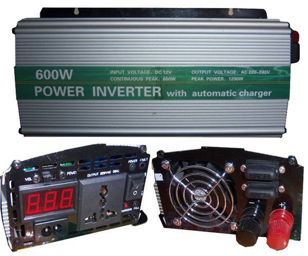 Power Inverter 600W with UPS and Special Function (SUN-600C)