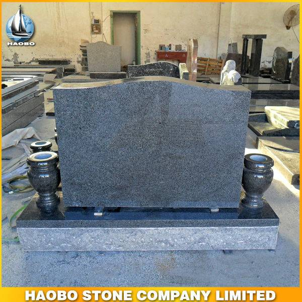 Granite Upright Gravestone Standard Size