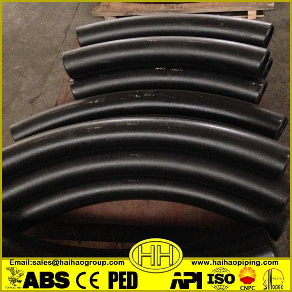 China supplier 3D 5D long radius carbon steel pipe bend fittings