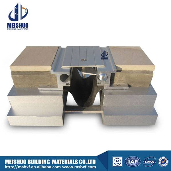 Floor to floor flush metal expansion joint buildings MSDGP-2