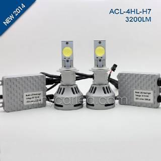 4HL 3200LM H7W LED Light Bulb DC12-24V with CE,RoHS