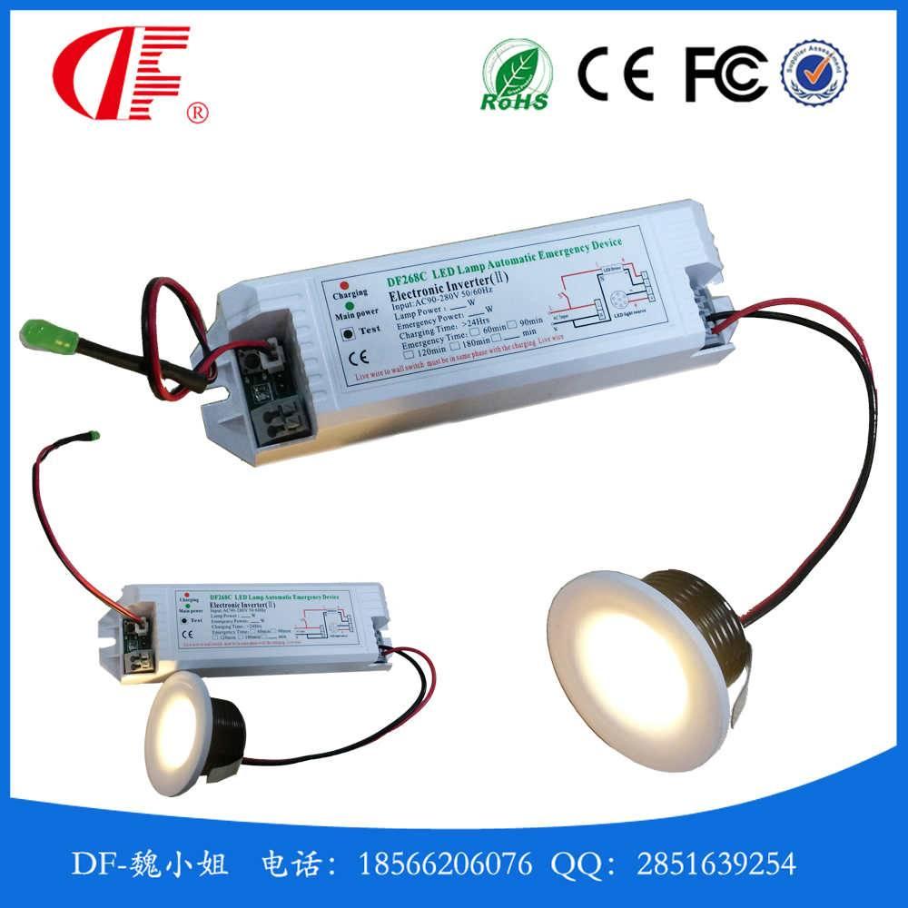 1-3W LED emergency Light, LED Emergency Downlamp, Mini emergency down lights