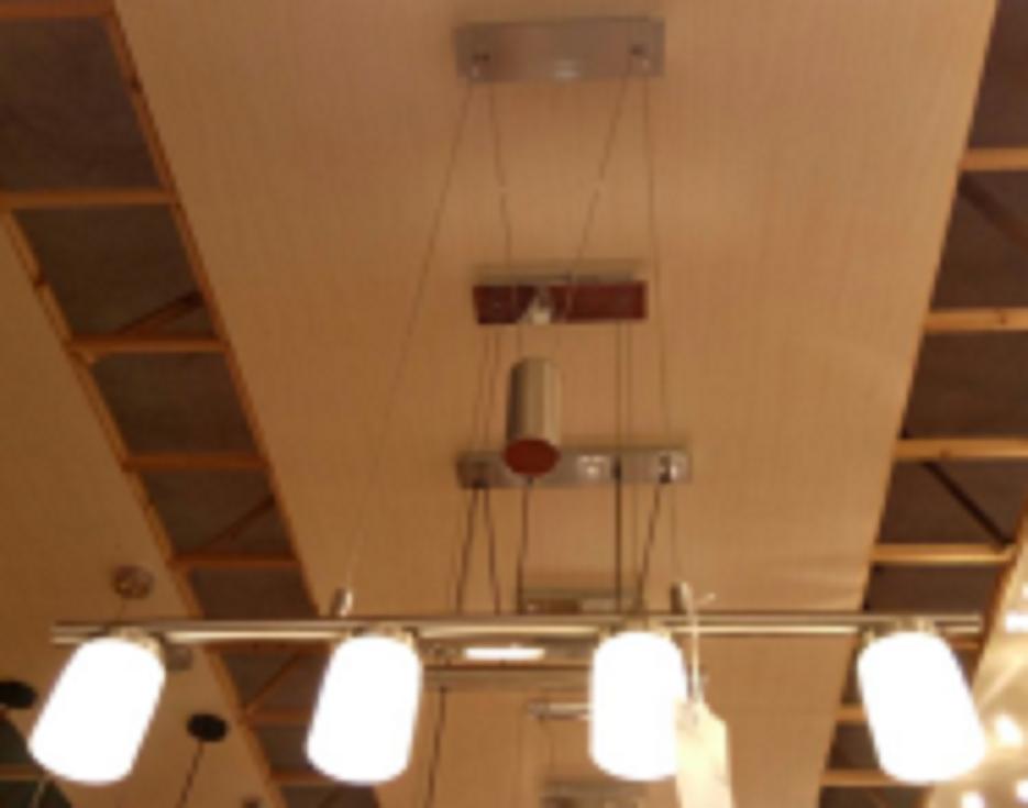 4 head 18W led pendant light - P50614A