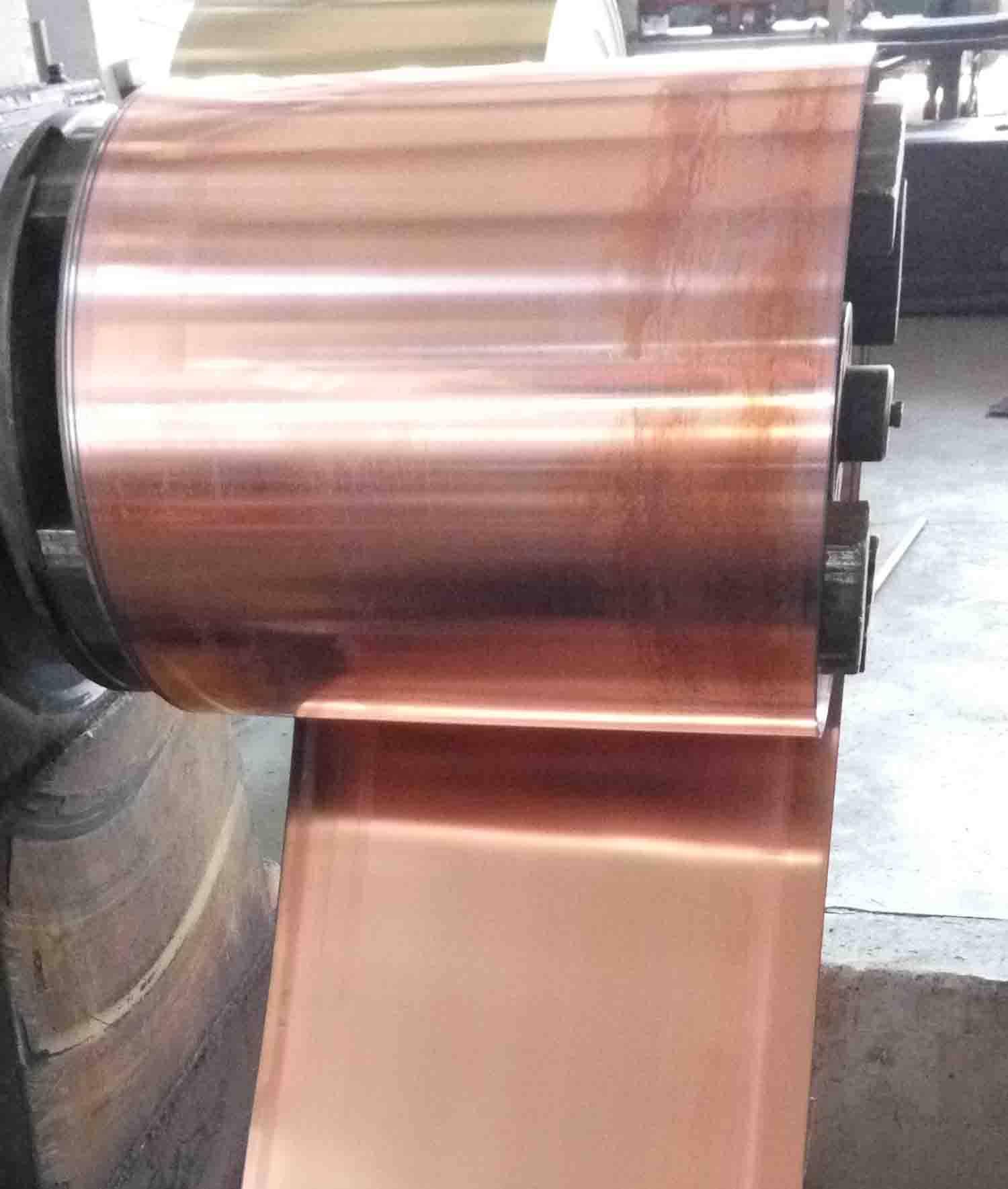 Copper-steel-copper Sheet