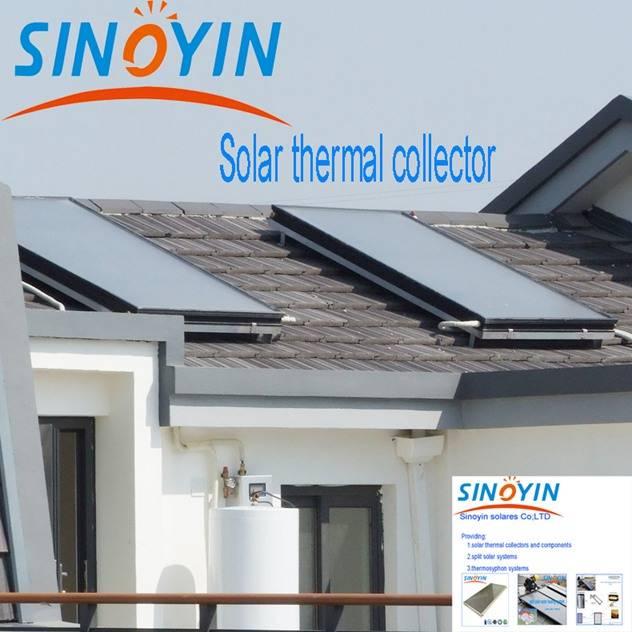 Split solar thermal water heater of 200 liter enamel tank