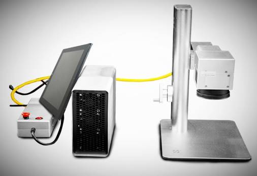 Intelligent Fiber Laser Marking Machine-1