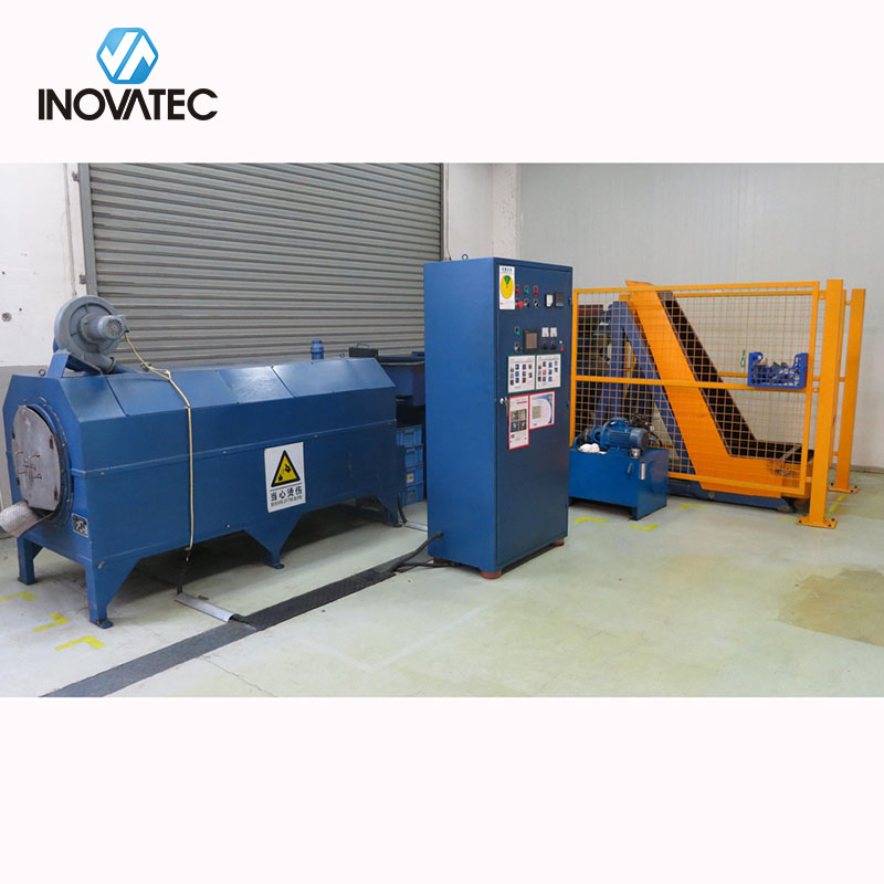 Vibratory finishing machine - Grinding & heating line