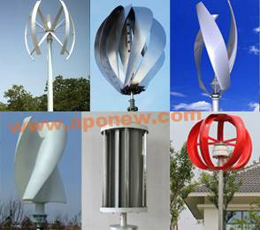 Vertical Axis Wind Turbines (VAWT)