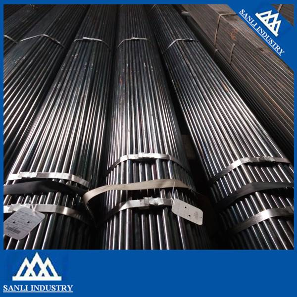 Cold Rolled Round Welded Black Steel Pipe