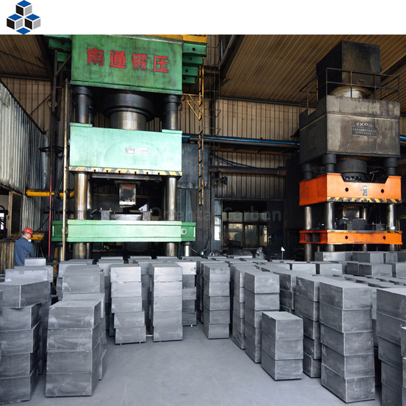 Fine Grain Molded High Density Graphite Block