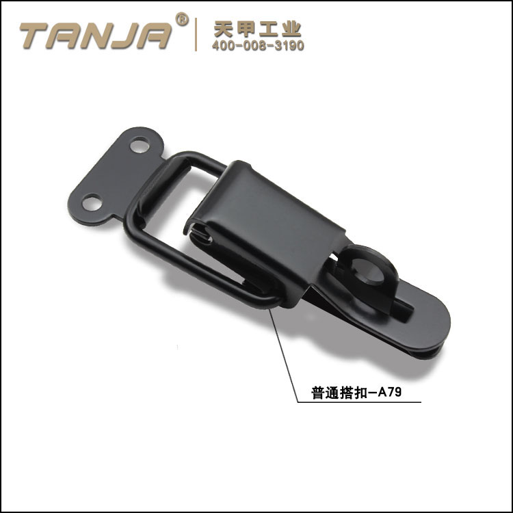 TANJA A79 zinc plated hasp toggle latch / OEM ODM lockable toggle latch / snap latch with padlock fo