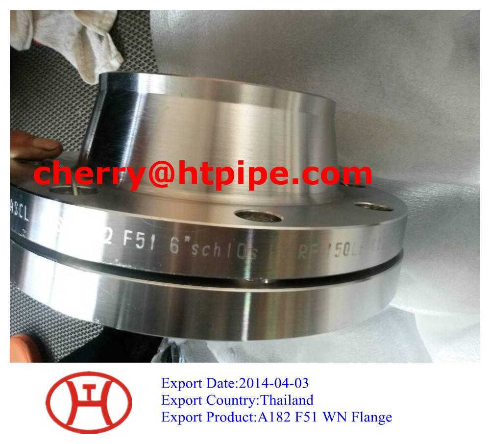 ASTM A182 F51 WN flange