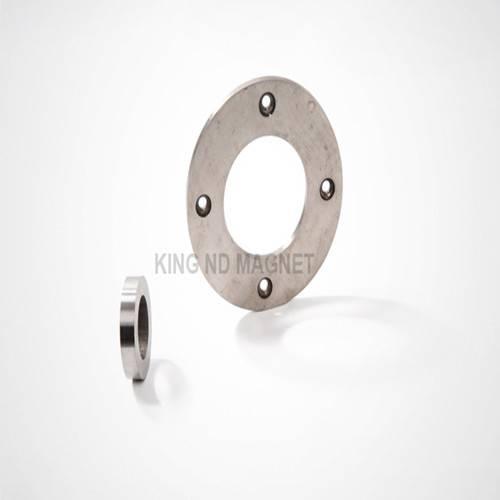 Rare-Earth Permanent Ring AlNiCo Magnet with Countersunk  (AlNiCo5)