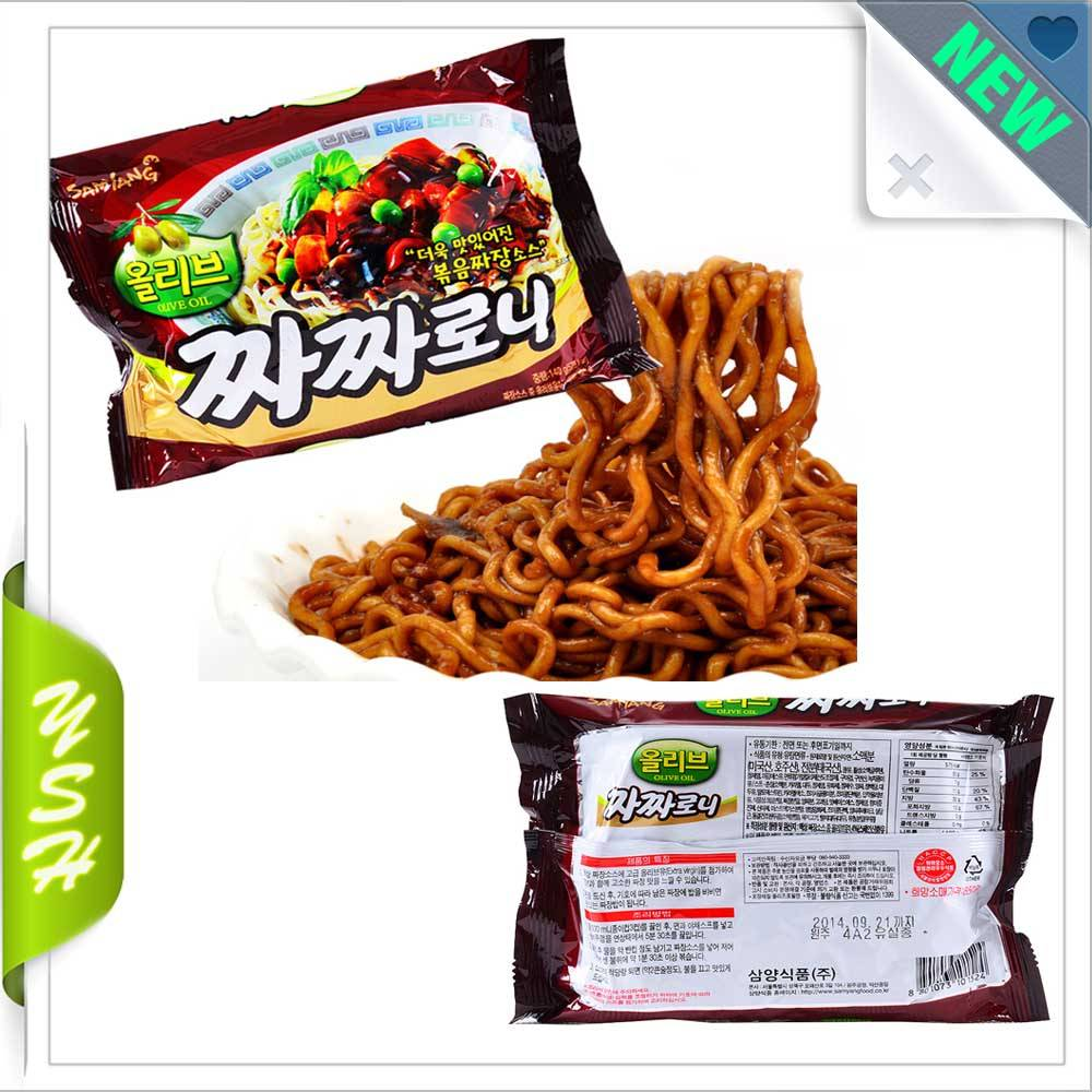 Instant Noodles Chacharoni packaging plastic bag
