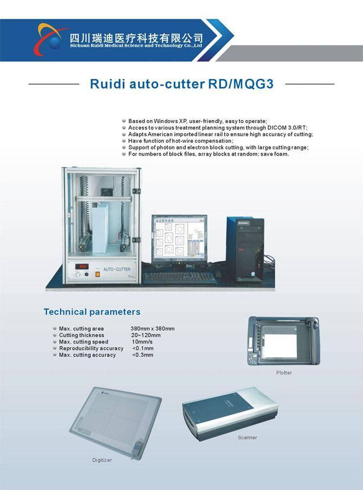 Auto Cutter for Radiotherapy