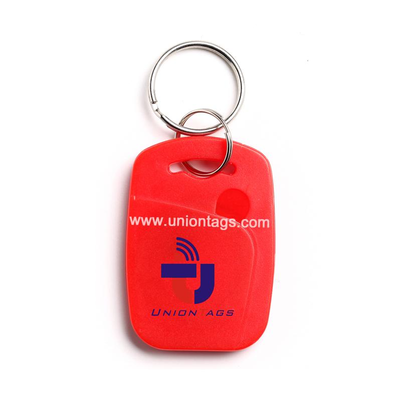 125Khz TK4100 Waterproof RFID PVC Key Fobs