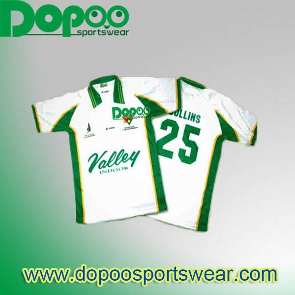 Custom made team logo and name cricket jersey sublimation printing cricket apparel wholesale cricket