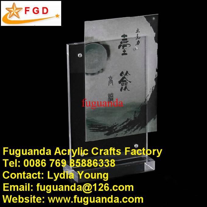 Fuguanda acrylic paper holder