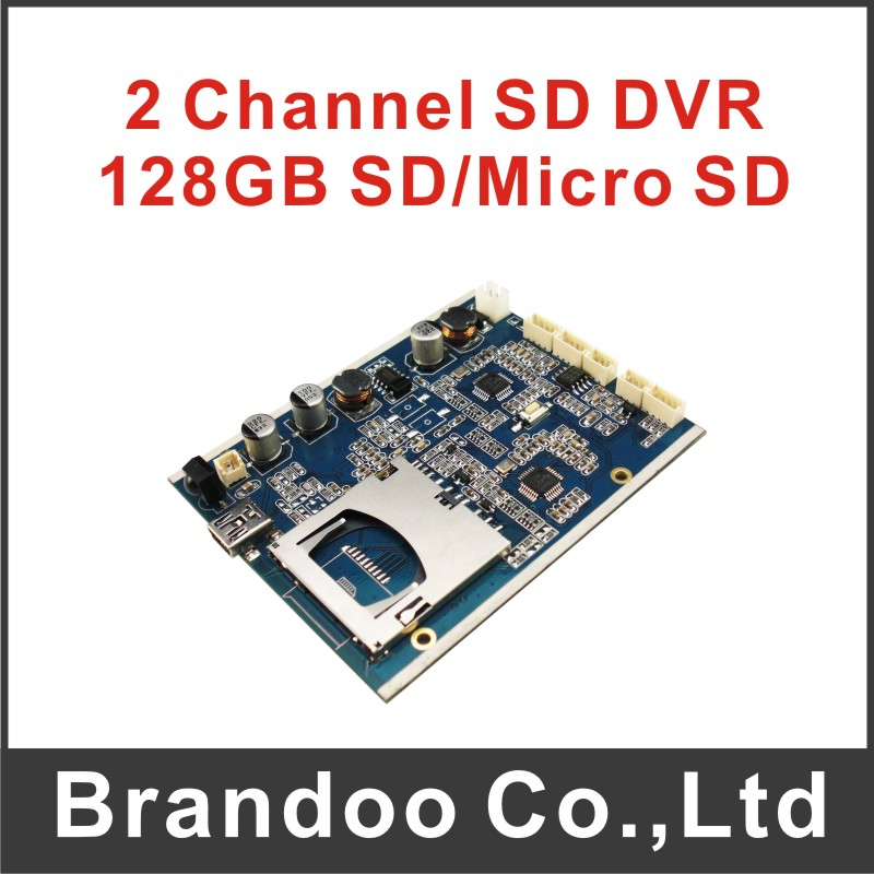 2 channel DVR module