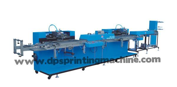 Two colors Content tapes automatic screen printing machine