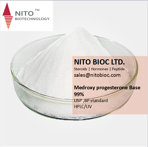 Factory Quality Control, Strong Intermediate Powder: Medroxy progesterone Base