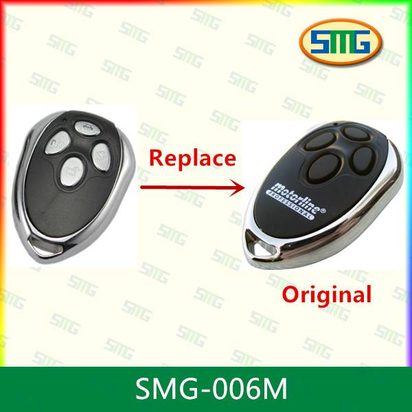SMG-015M2 Replacement remote control keyfob for MOTORLINE MX4SP DSM remotes