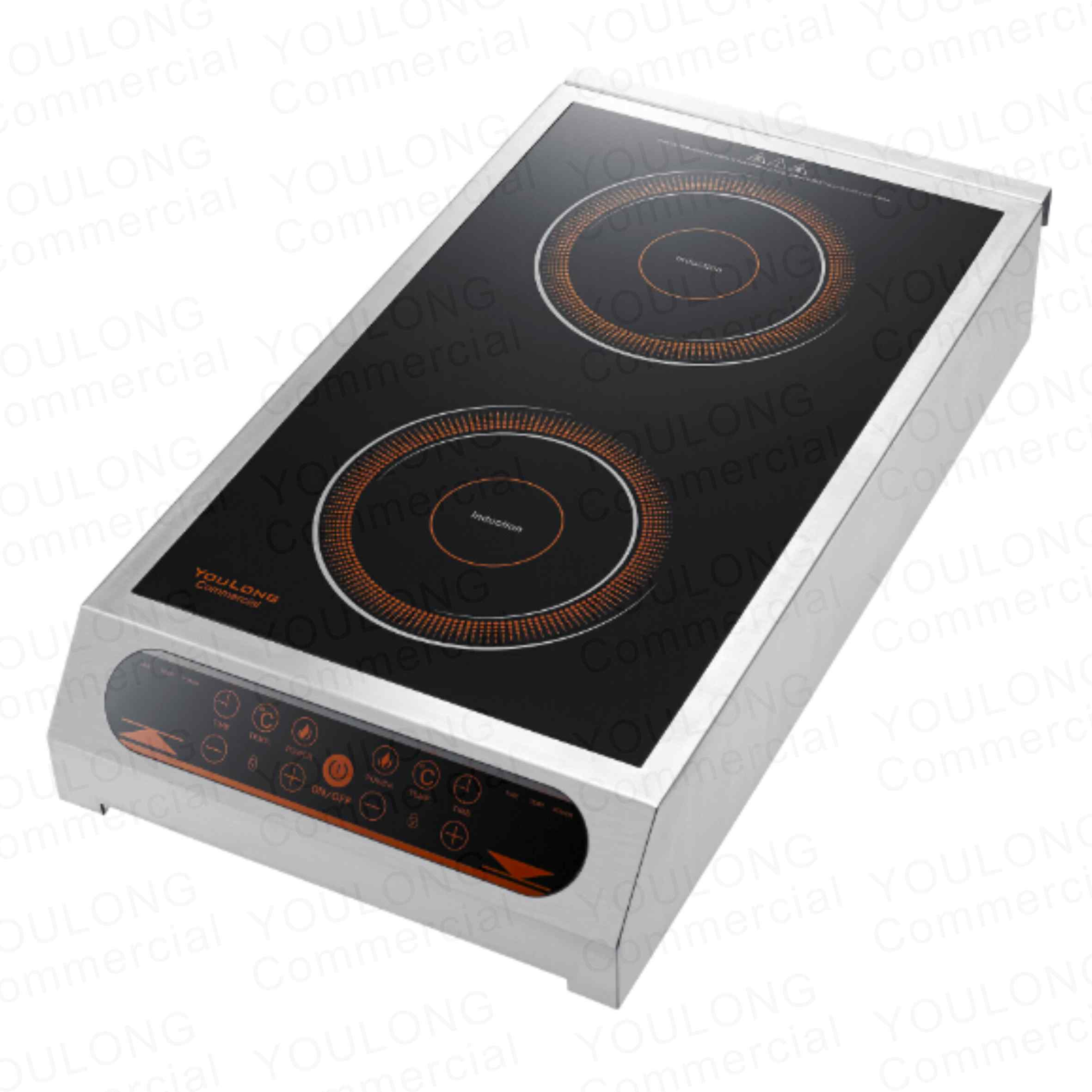 induction cooker(2 burner) C6001-S Touch Control