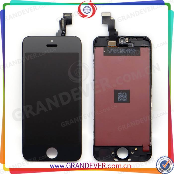 Quality Good LCD Display and Touch Screen Digitizer Assembly for iPhone 5C , for iPhone 5C LCD Digit
