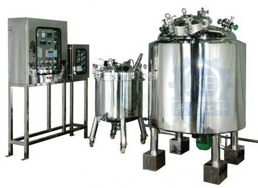 Steam Heating Chemical Mixing Tank/ Jacketed Kettle