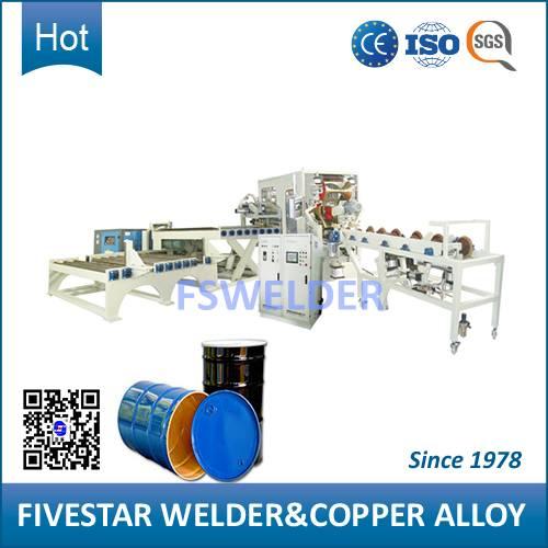 Automatic Welding Machine for 200L-208L Steel Barrel