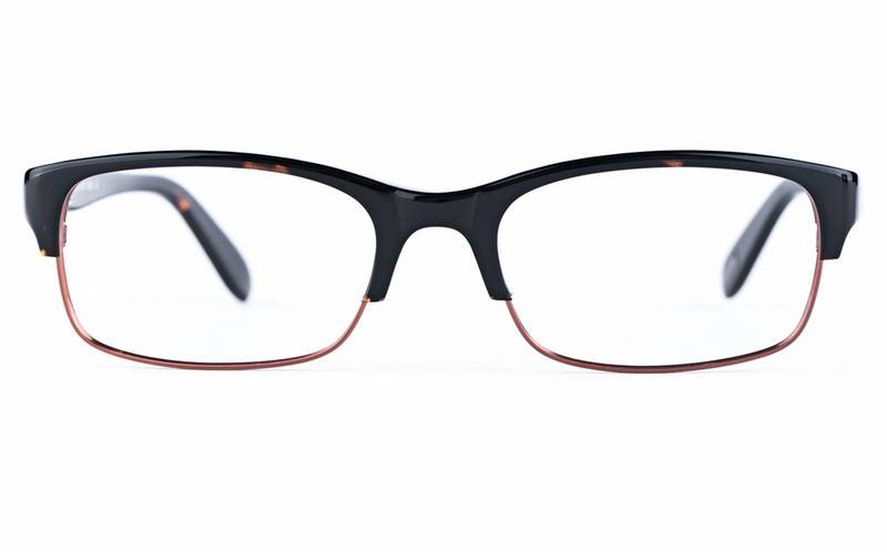 Dime 0901 Semi-rimless Oval Metal-Stainless Steel/ZYL Glasses