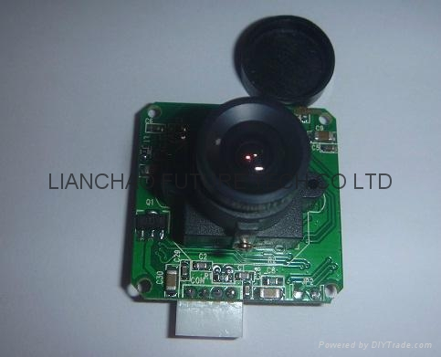 LCF-23T(0706 Protocol)TTL/RS485 Serial Camera Module
