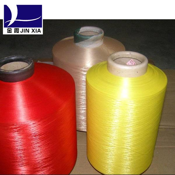 Colored Polyester DTY Yarn 150D/48F