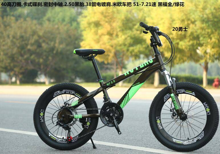 steel material 2.5 tire 20 inch mountain bike