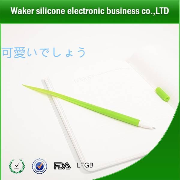 Silicone green grass pen