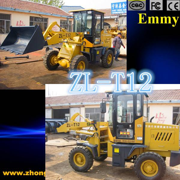Mini Loader with High Low Speed, elctric start loaders