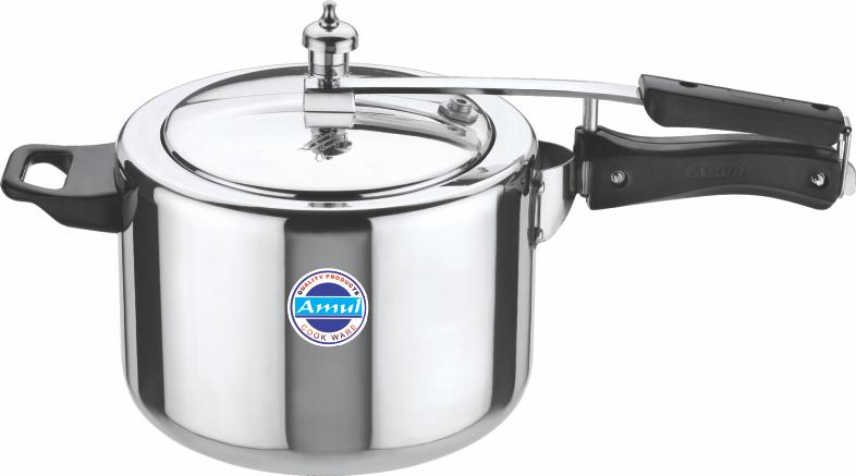 aluminium inner lid cooker